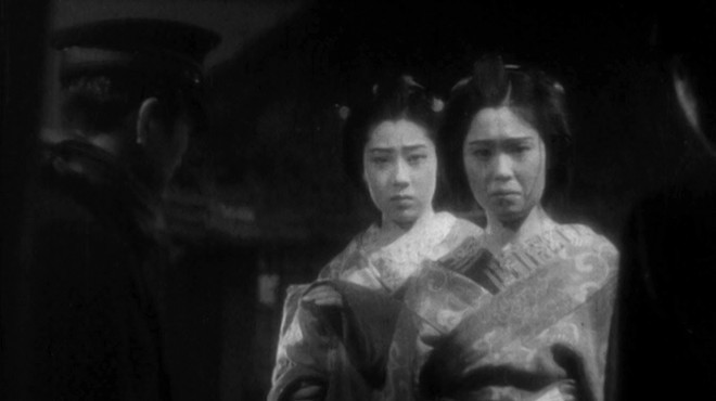 56. Cinema concert. session with live music and old Japanese film (Maria no oyuki by Kenji Mizoguchi)