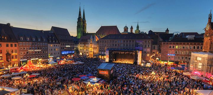 Nürenberg festival bardentreffen maïa barouh